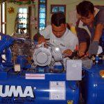 Người dùng cần nắm được cách vận hành máy nén khí Puma đúng cách