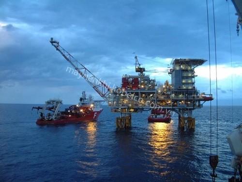 Máy nén khí được ứng dụng hiệu quả trong ngành công nghiệp khai thác dầu khí
