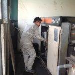 Rò rỉ khí nén là sự cố thường gặp ở máy nén khí