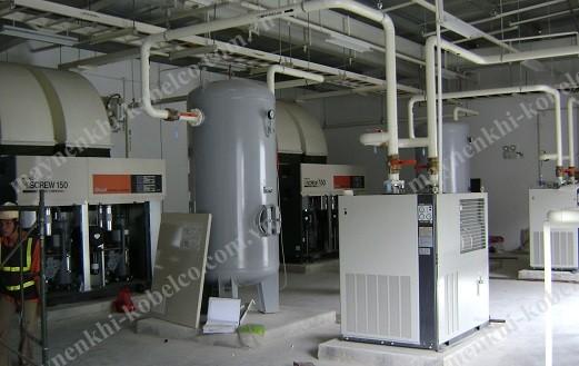 Máy nén khí trục vít được sử dụng rất phổ biến trong các ngành công nghiệp nặng