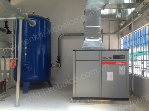 Người dùng nên lắp đặt máy nén khí ở nơi thoáng mát, có hệ thống thông gió, làm mát