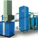 Hệ thống làm mát đóng vai trò quan trọng trong hệ thống máy nén khí trục vít