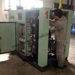 Vệ sinh phụ kiện máy nén khí định kỳ giúp tăng độ bền máy