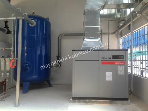 Người dùng cần chú ý lắp đặt máy nén khí ở nơi khô ráo, thoáng mát, tránh những vật dễ gây cháy nổ
