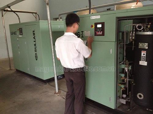 Người dùng cần chú ý kiểm tra hiện trạng máy nén khí, ghi chép lại tình trạng máy mỗi lần vận hành máy