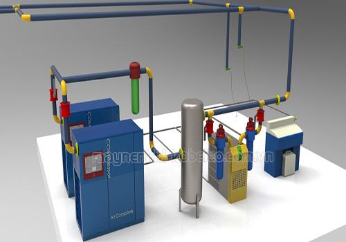 Căn cứ vào hiệu suất đánh giá chất lượng máy nén khí