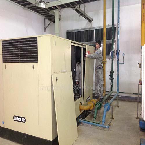 Có nhiều nguyên nhân khiến máy nén khí trục vít bị kêu to khi vận hành