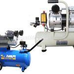 Chọn loại máy nén khí mini cầm tay có dầu hay không dầu