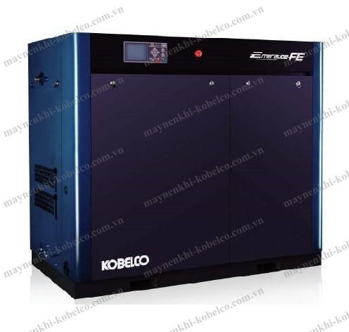 Máy nén khí không dầu Kobelco FE được đánh giá cao về khả năng tiết kiệm điện năng tiêu thụ