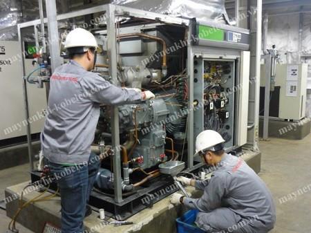 Người dùng chú ý lựa chọn dịch vụ sửa chữa máy nén khí Kobelco chất lượng, uy tín