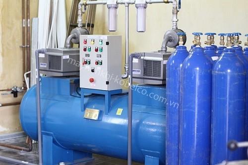 Máy nén khí được ứng dụng rộng rãi trong nhiều ngành công nghiệp khác nhau