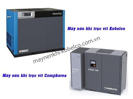 Kobelco và Compkorea là hai thương hiệu máy nén khí trục vít được yêu chuộng nhất hiện nay