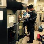 Người dùng cần chú ý vệ sinh, bảo dưỡng máy nén khí trục vít Kobelco định kỳ để máy tăng hiệu quả hoạt động