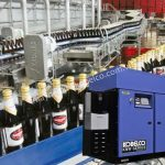 Máy nén khí không dầu Kobelco được ứng dụng trong ngành sản xuất thực phẩm đồ uống
