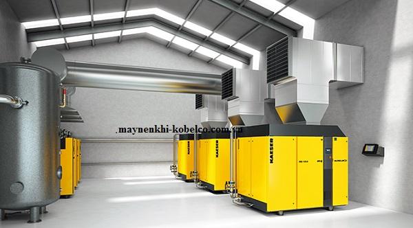 Hệ thống làm mát máy nén khí được người dùng chú trọng lắp đặt