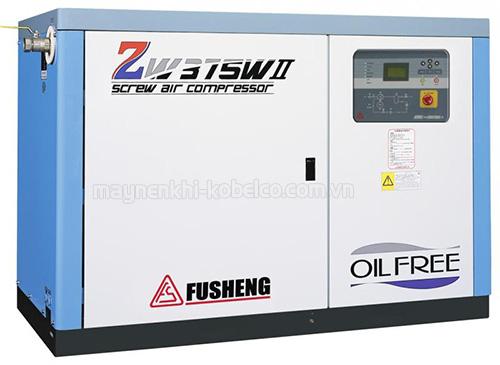 Máy nén khí không dầu Fusheng sở hữu nhiều cải tiến hiện đại