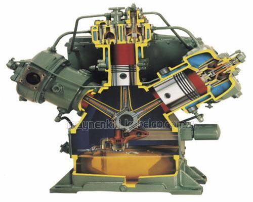 Mô hình máy nén khí piston