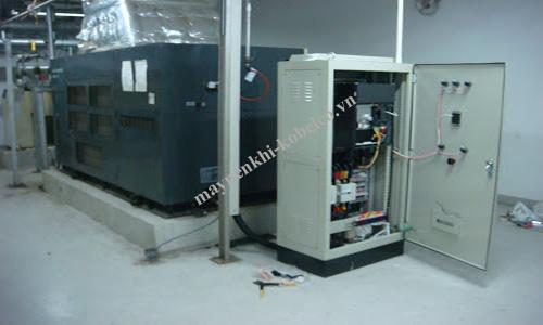 Tiết kiệm điện cho máy nén khí bằng cách lắp thiết bị biến tần