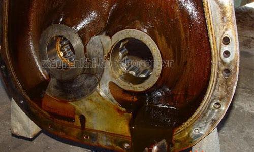 Hiện tượng keo dầu ở máy nén khí