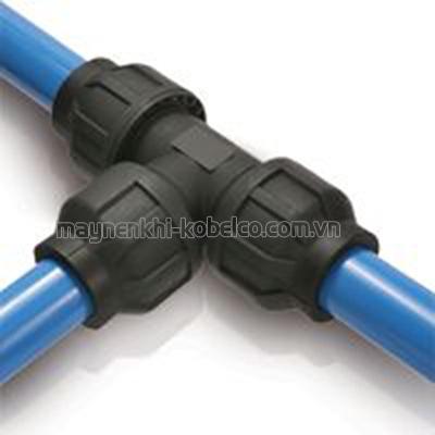 Không cần hàn khi lắp đặt ống dẫn khí bằng nhuôm