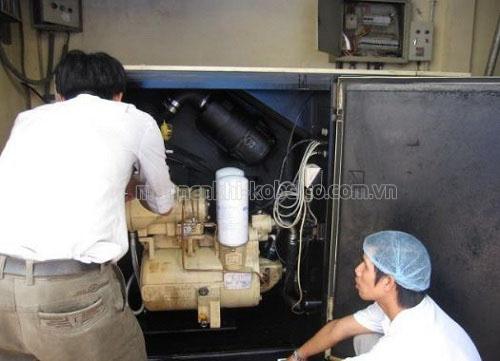sai lầm khi bảo dưỡng máy nén khí
