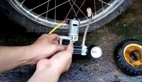 bơm xe máy mini