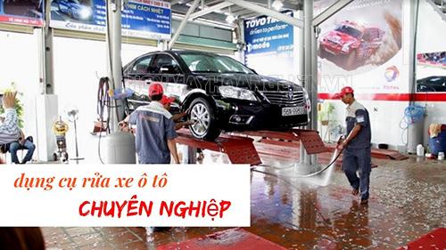 Cách chọn dụng cụ rửa xe