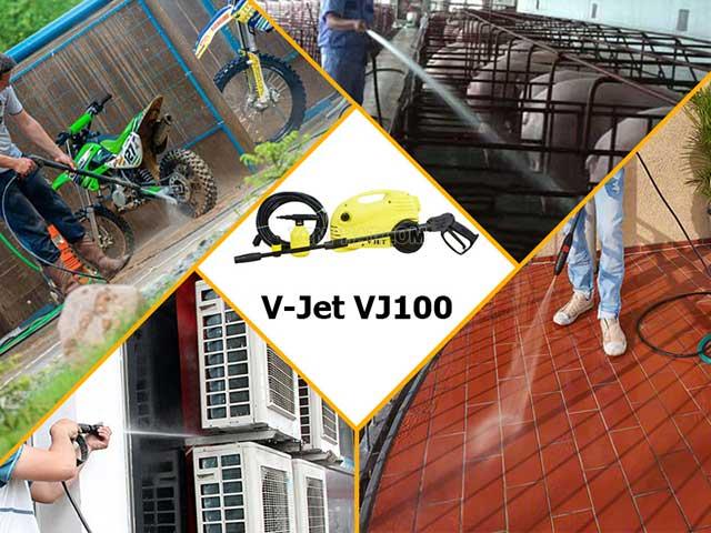 Máy rửa xe gia đình V_jet VJ100