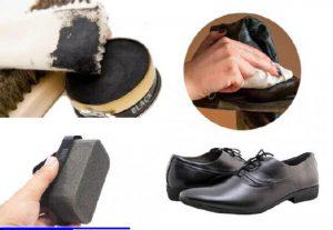 Khăn và mút lau giày